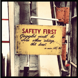 Safety First: Wear Your Goggles
