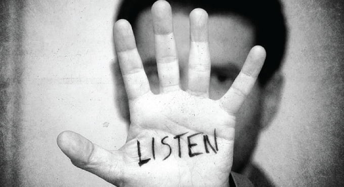 2 Ears and 1 Mouth for Listening