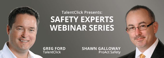 Safety Culture Webinar - Greg Ford and Shawn Galloway