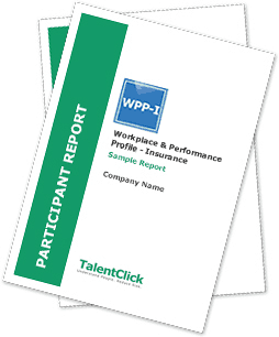 Sample WPP-I Employer Report