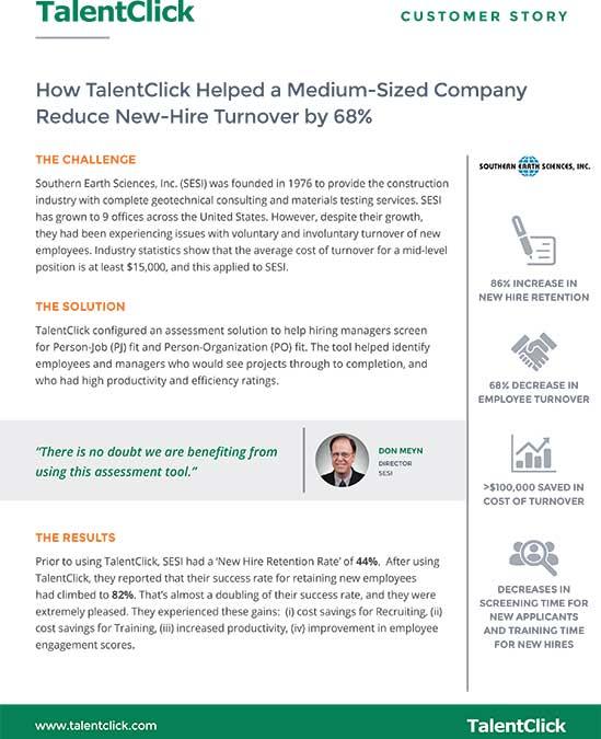 customer story SESI turnover