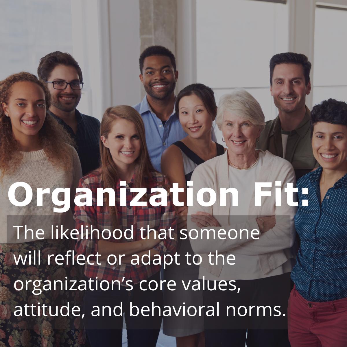 organization fit