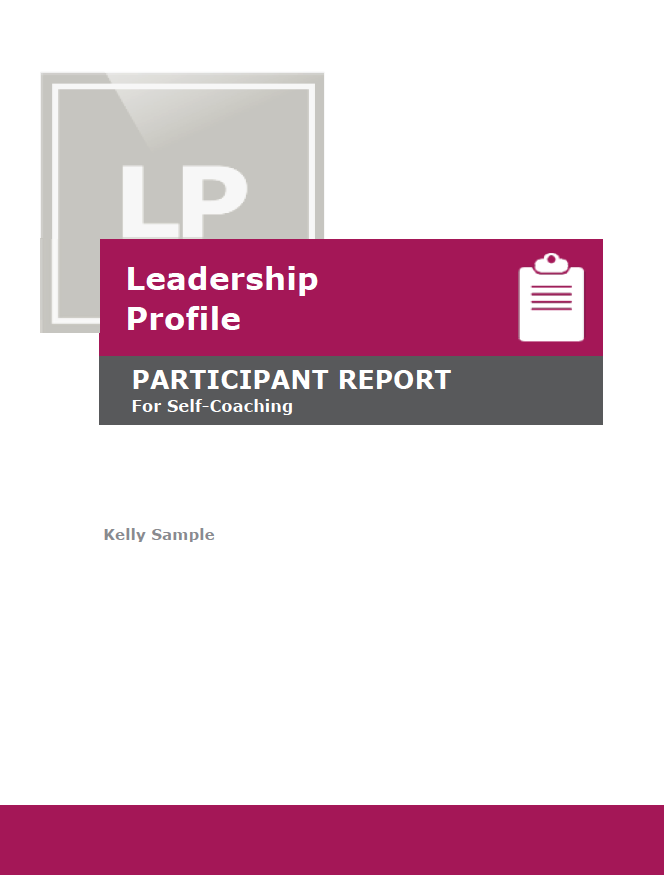 Leadership Profile Participant Report